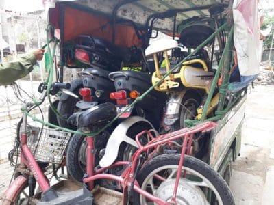 Mua tất cả các loại xe điện cũ hỏng