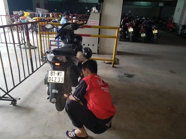 sua xe may luu dong
